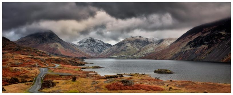 Wast Water Mountains - Lake District Print