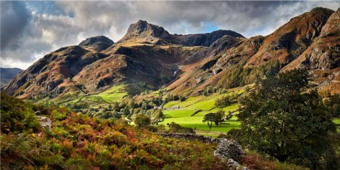 Cumbrian Way Langdale - Canvas Print