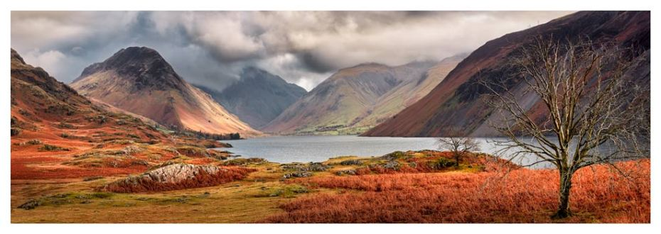 Autumn Ends at Wast Water - Lake District Print