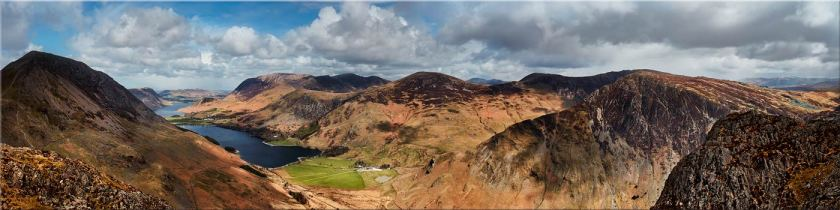 Fleethwith to High Crag - Canvas Prints