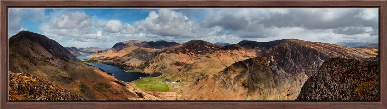 Fleethwith to High Crag - Modern Print