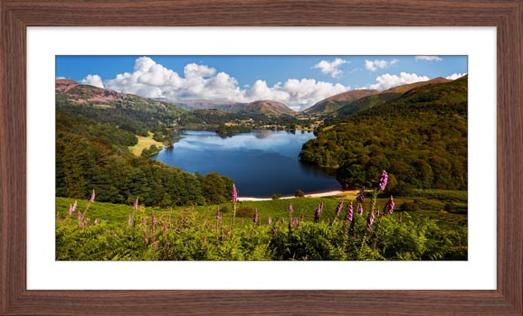 Summer at Grasmere - Framed Print with Mount