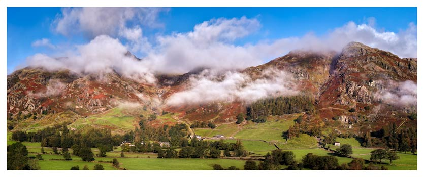 Misty Mountains of Langdale - Lake District Print