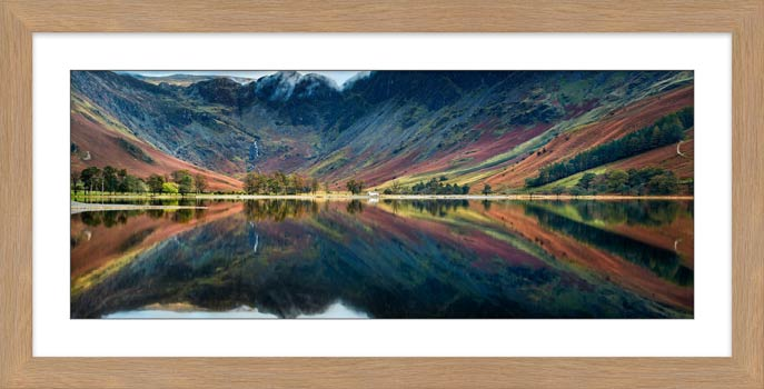Buttermere Reflections - Framed Print