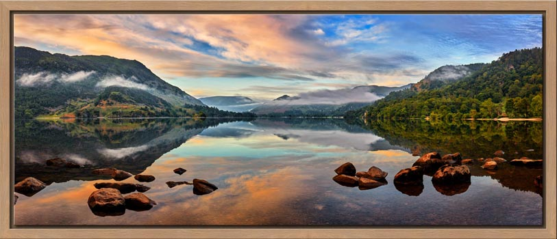 Ullswater Morning Mists - Modern Print