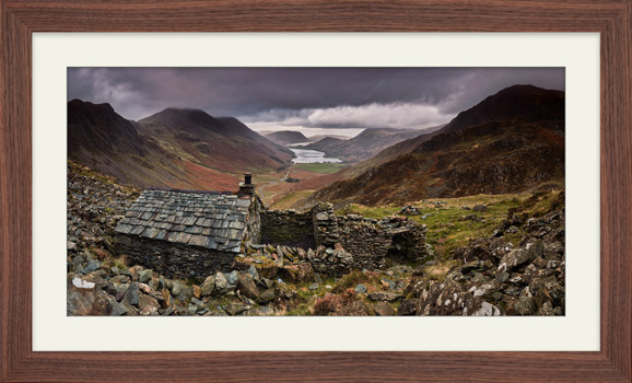 Warnscale Bothy - Framed Print with Mount