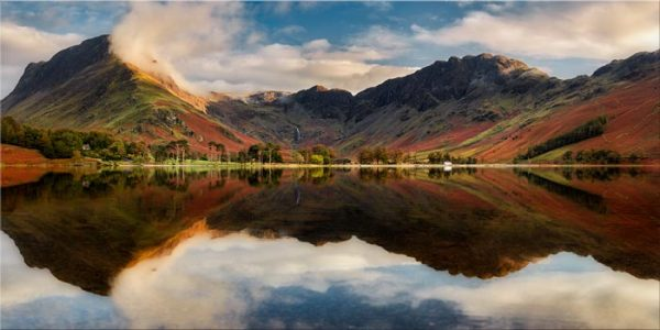 Buttermere Evening Light - Canvas Print