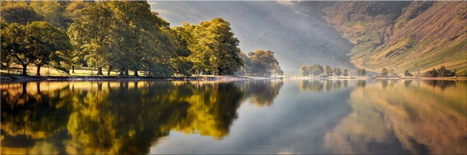 Hazy Days at Buttermere - Canvas Print
