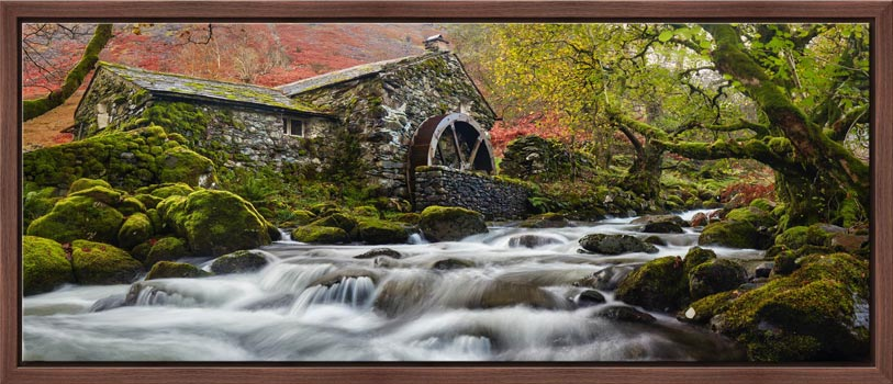 Borrowdale Mill Panorama - Modern Print