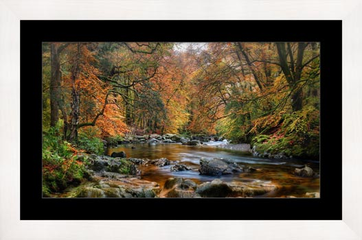 River Esk in Autumn - Framed Print
