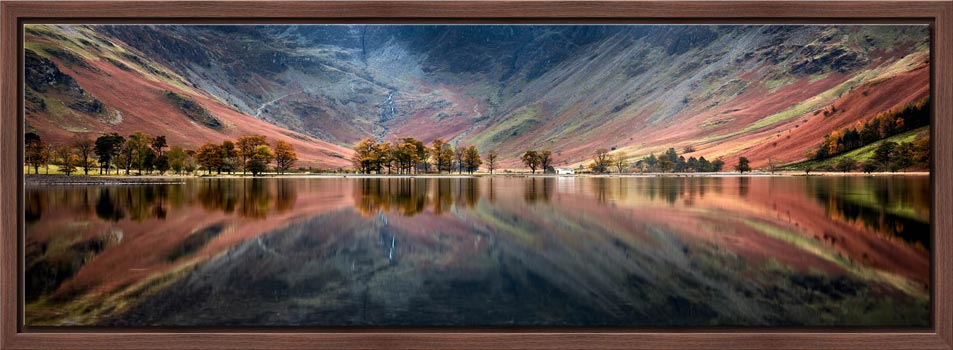 The Buttermere Bowl - Modern Print