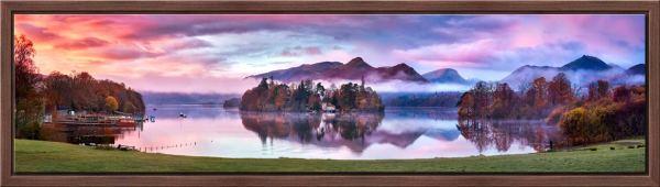 Derwent Water Sunrise - Modern Print