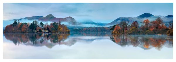 Derwent Isle Dawn Mists - Prints of Lake District