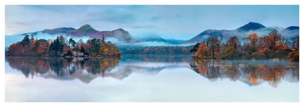 Derwent Isle Dawn Mists - Lake District Print