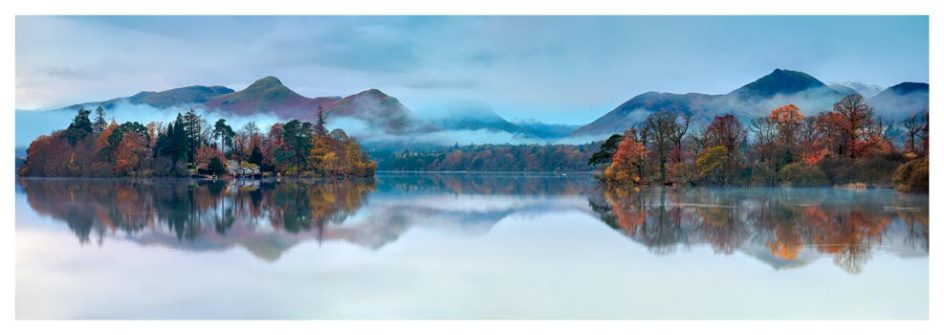 Derwent Isle Dawn Mists - Lake District Print