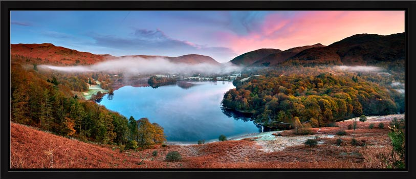 Dawn Colours of Grasmere - Modern Print