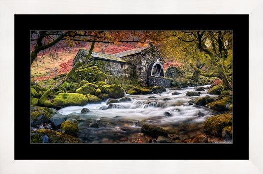 Borrowdale Mill - Framed Print
