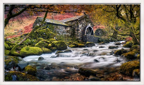 Borrowdale Mill - Modern Print