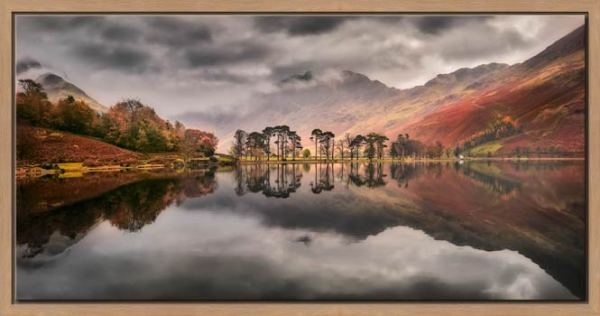 Grey Skies Over Buttermere - Modern Print