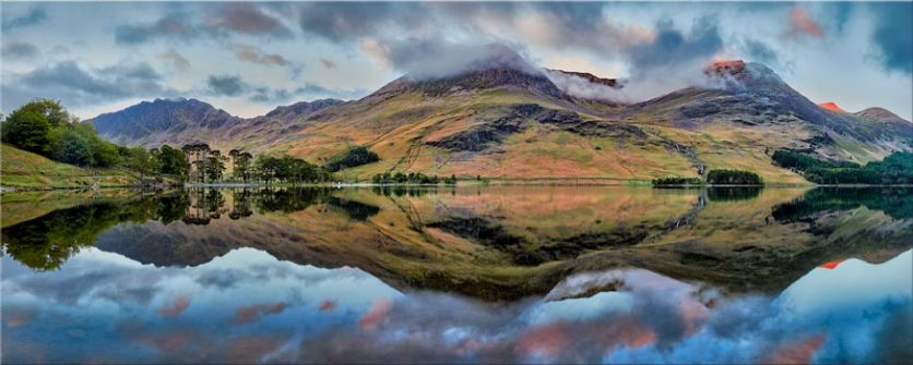 High Stile and High Crag - Lake District Canvas