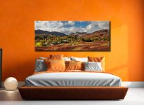 Elterwater Village - Canvas Print on Wall