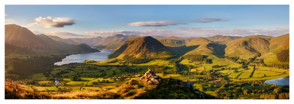 Loweswater Fell Summit - Lake District Print