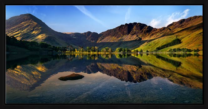 Stillness at Buttermere - Modern Print