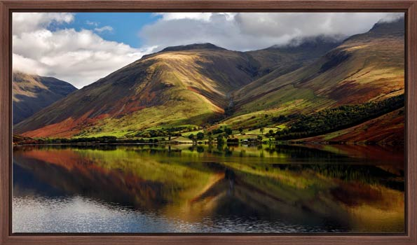 Green Fells of Wasdale - Modern Print