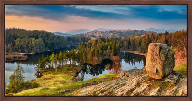 Dusk at Tarn Hows - Modern Print