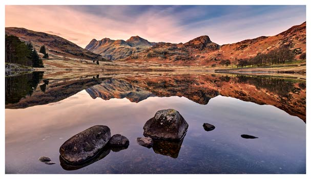 Blea Tarn at Dusk - Lake District Print