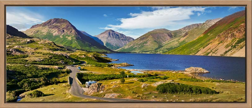 Summer at Wast Water - Modern Print