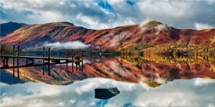 Late Autumn at Ashness Jetty - Canvas Print