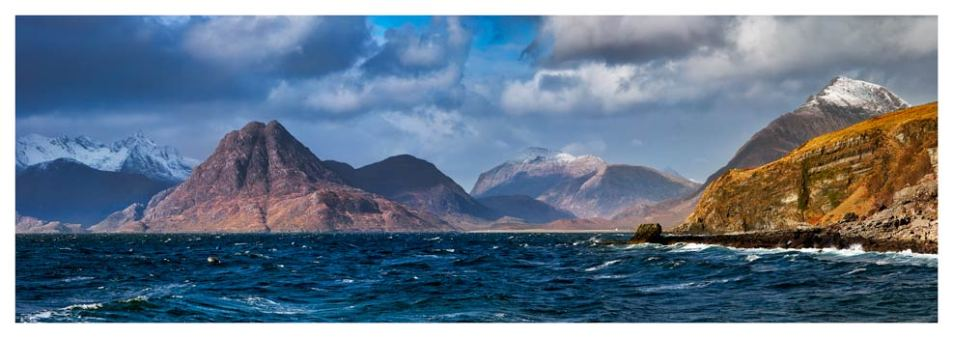 Cuillins From Elgol - Isle of Skye Print