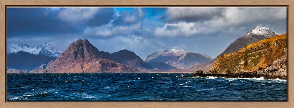 Cuillins From Elgol - Modern Print