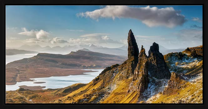 Old Man of Storr and Cuillins - Modern Print