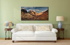 Mountains of Glencoe - Canvas Print on Wall