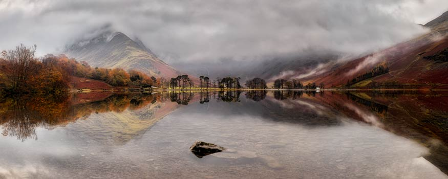Buttermere Between the Showers - UltraHD Print with Aluminium Backing
