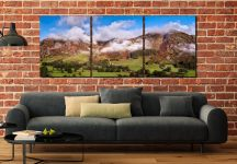 Misty Mountains of Langdale - UltraHD Print with Aluminium Backing on Wall