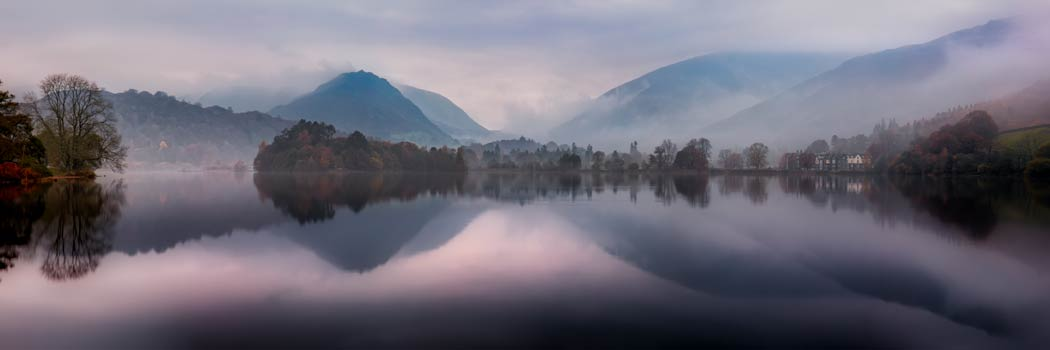 Misty Grasmere - UltraHD Print with Aluminium Backing