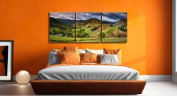 The Martindale Valleys - UltraHD Print with Aluminium Backing on Wall