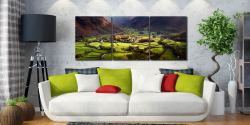 Autumn Colours of Borrowdale - UltraHD Print with Aluminium Backing on Wall