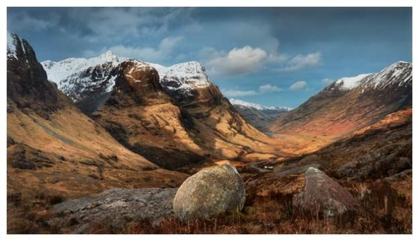 Glencoe Stones - Scotland Print