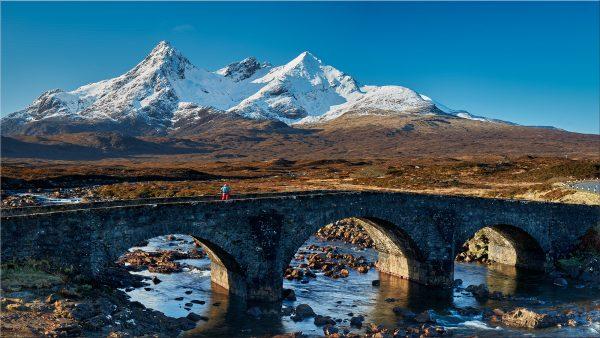 Stone Bridge at Sligachan - Isle of Skye Canvas