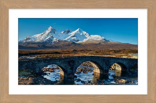 Stone Bridge at Sligachan - Framed Print with Mount