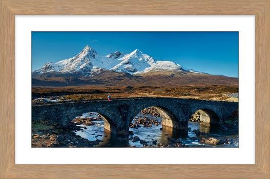 Stone Bridge at Sligachan - Framed Print