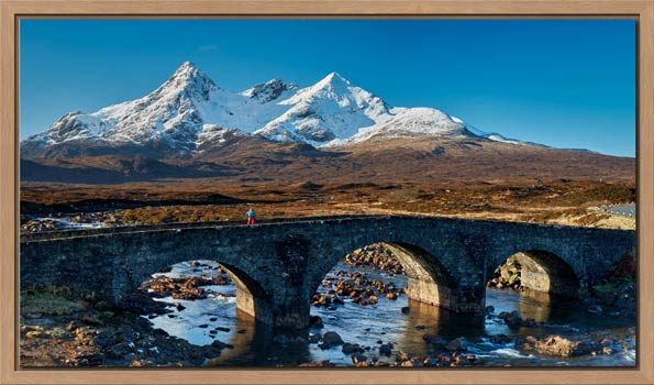 Stone Bridge at Sligachan - Modern Print