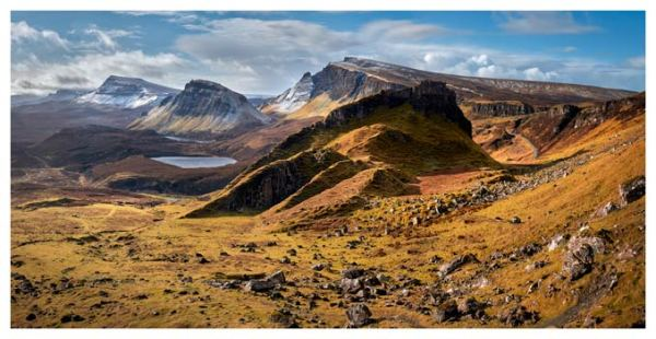 Quiraing Boulder Field - Isle of Skye Print