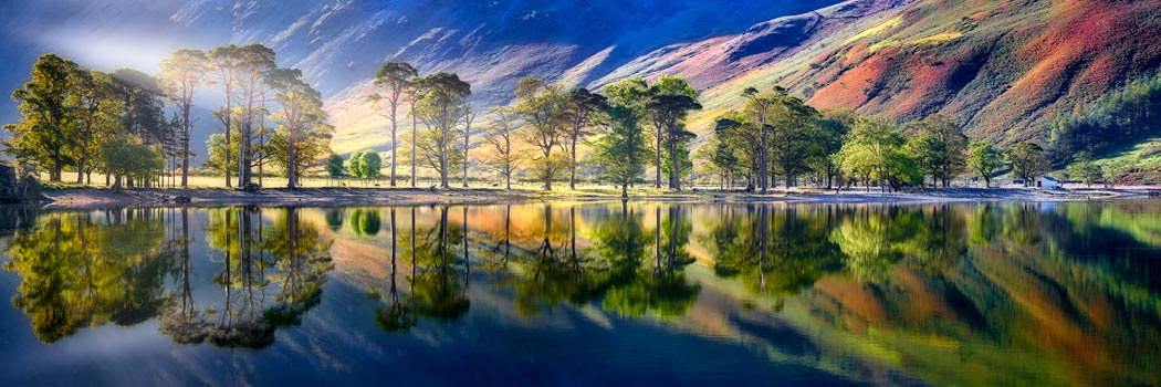 Buttermere Tranquility - UltraHD Print with Aluminium Backing