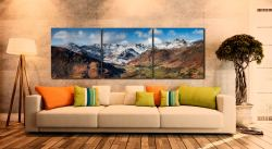 Great Langdale Valley in Winter - UltraHD Print with Aluminium Backing on Wall