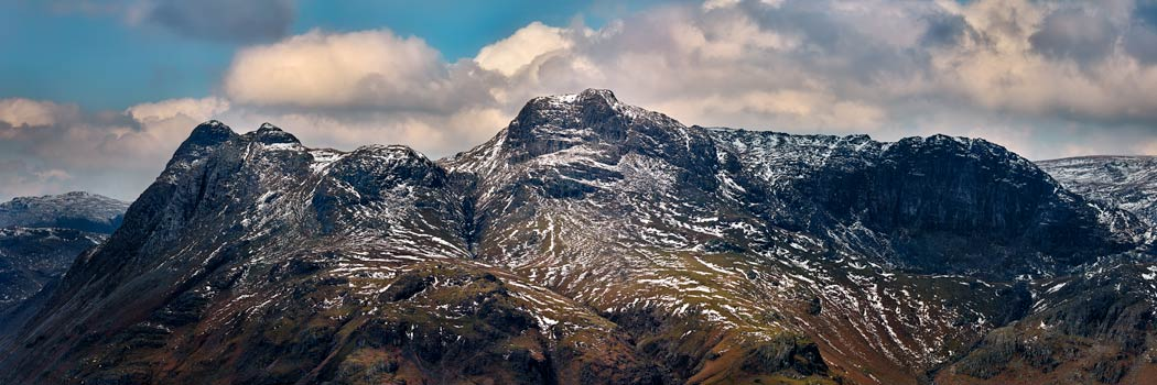 The Langdales and Pavey Ark - UltraHD Print with Aluminium Backing